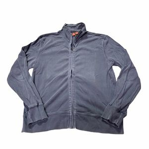 Hugo Boss Knit Zip Up Jacket Size Medium